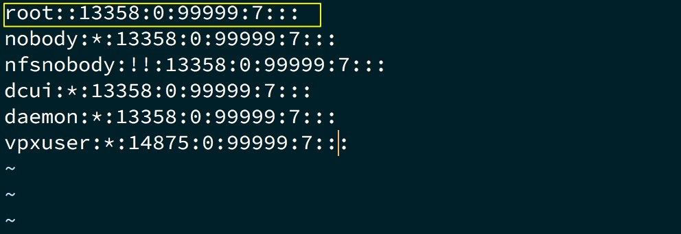 reset mật khẩu root trên esxi - 5