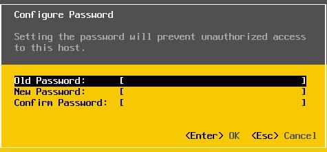 reset mật khẩu root trên esxi - 8
