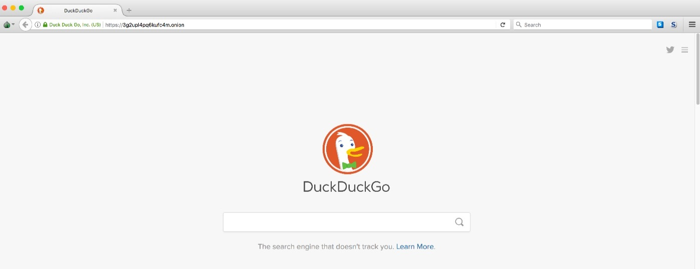 search website deep web với Duckduckgo