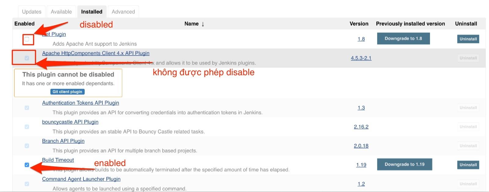 jenkins plugin update