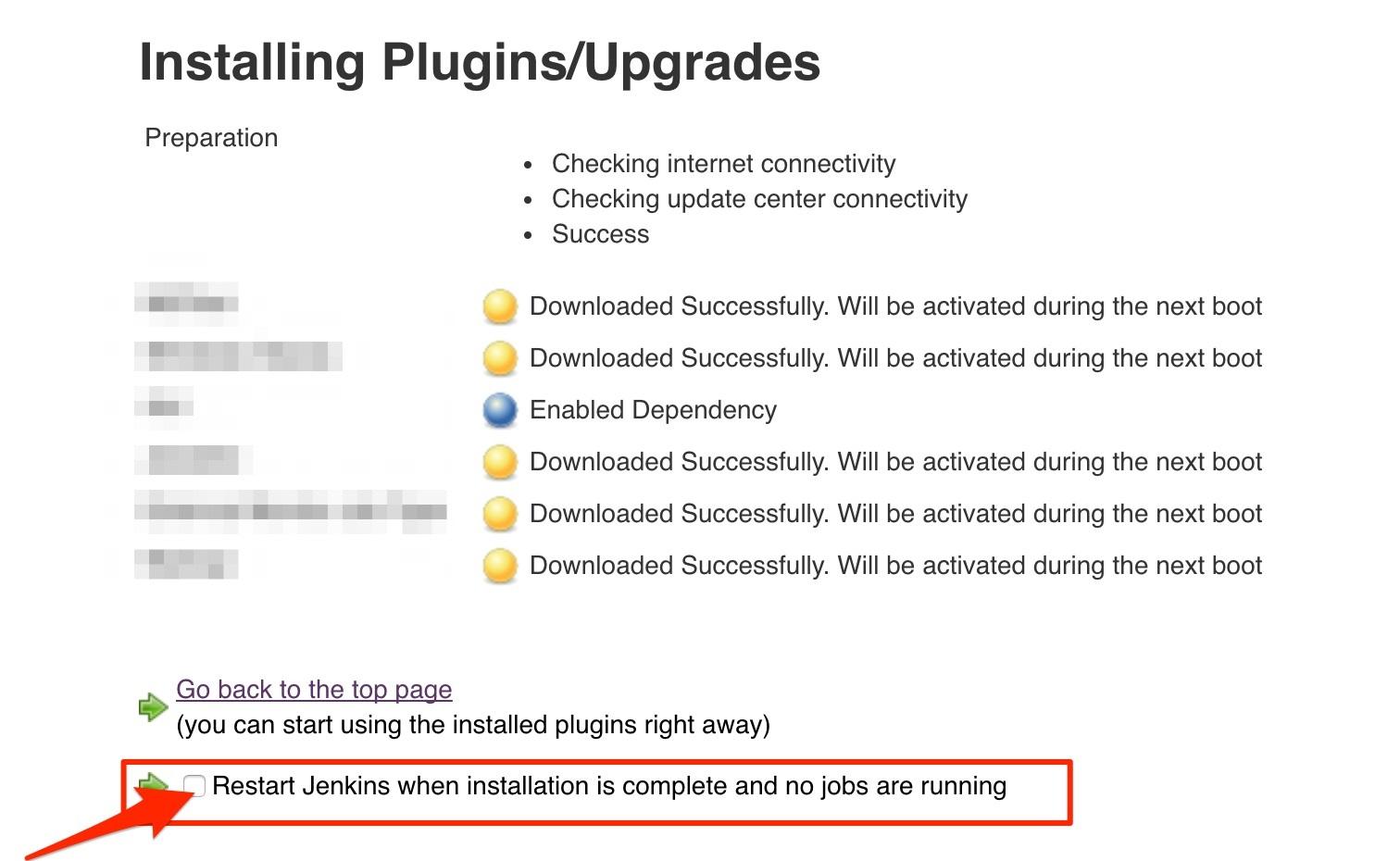 jenkins plugin install thinbackup