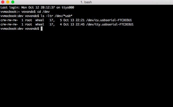 terminal console mac os 1