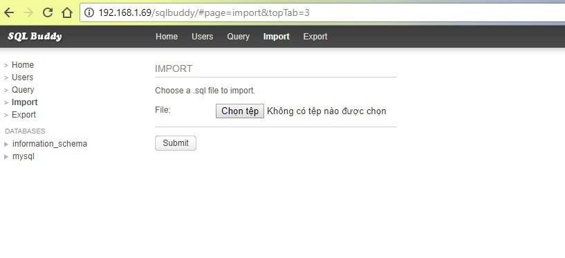 sqlbuddy import