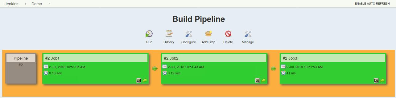 build jenkins pipeline