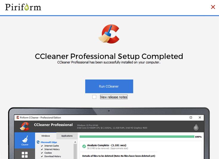 cài đặt ccleaner pro full 2019 - 3