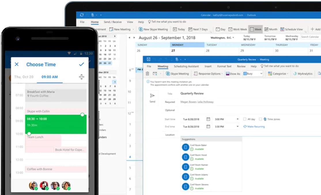 Tại sao Microsoft Outlook là lựa chọn tốt nhất cho doanh nghiệp?
